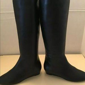 Loeffler Randall Black knee high boots